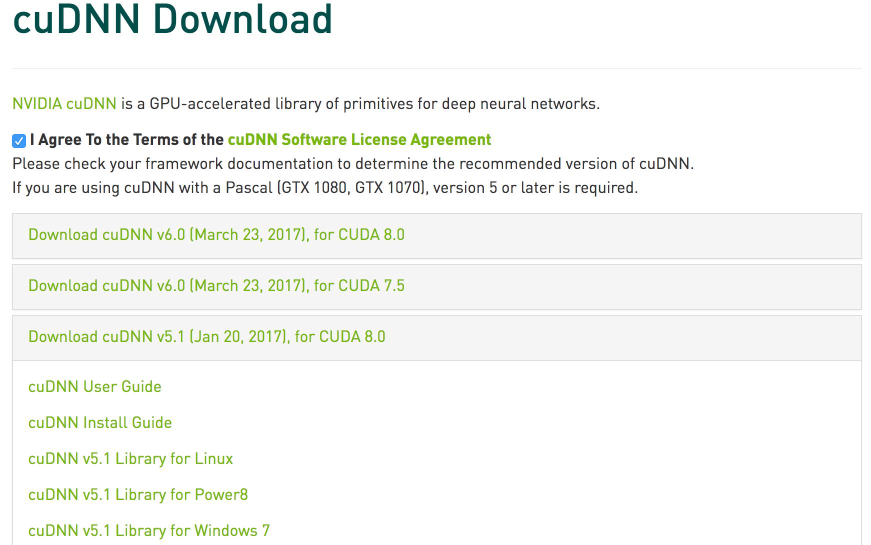 Install CUDA and cuDNN on Red Hat